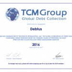 TCM - CERTIFICATE OF MEMBERSHIP Debtus