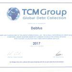 TCM certificate 2017