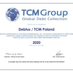 TCM certificate Poland 2020
